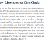 Liner Note - Chris Cheek